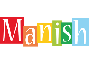 Manish colors logo