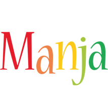 Manja birthday logo