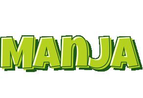 Manja summer logo