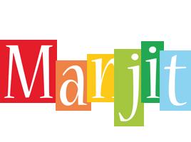 Manjit colors logo