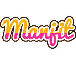 Manjit smoothie logo