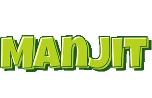 Manjit summer logo