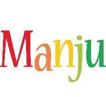 Manju birthday logo