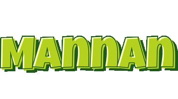Mannan summer logo