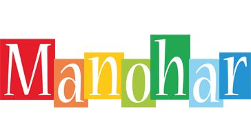 Manohar colors logo