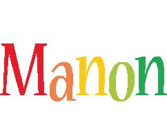 Manon birthday logo