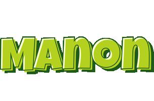 Manon summer logo