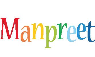 Manpreet birthday logo