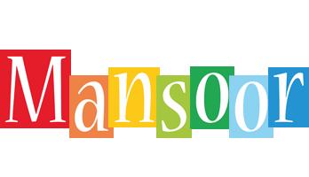 Mansoor colors logo