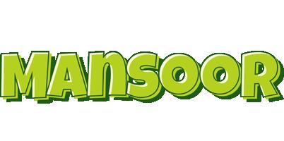 Mansoor summer logo