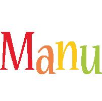 Manu birthday logo
