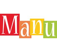 Manu colors logo