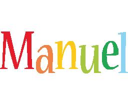 Manuel birthday logo