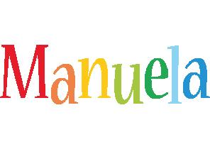 Manuela birthday logo