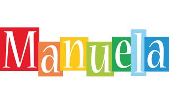 Manuela colors logo