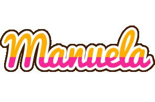 Manuela smoothie logo