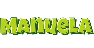 Manuela summer logo