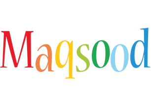 Maqsood birthday logo