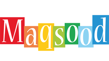 Maqsood colors logo