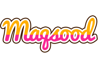 Maqsood smoothie logo