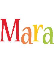 Mara birthday logo