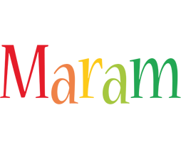 Maram birthday logo