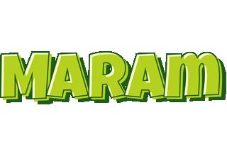 Maram summer logo