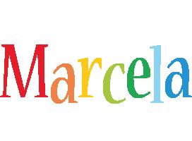 Marcela birthday logo