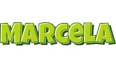 Marcela summer logo