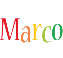 Marco birthday logo