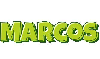 Marcos summer logo