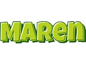 Maren summer logo