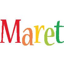 Maret birthday logo