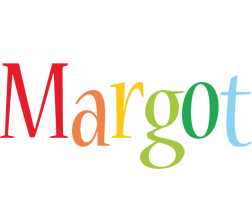 Margot birthday logo