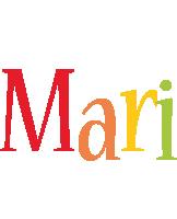 Mari birthday logo