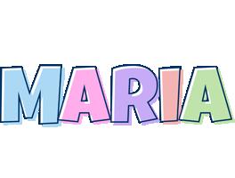 Maria Logo | Name Logo Generator - Candy, Pastel, Lager ...