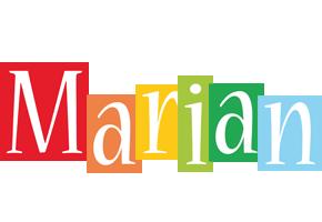 Marian colors logo