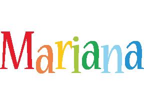 Mariana birthday logo