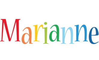 Marianne birthday logo