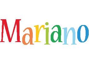 Mariano birthday logo