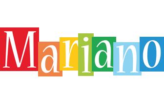 Mariano colors logo