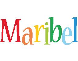 Maribel birthday logo