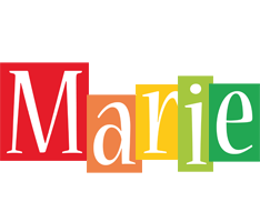 Marie colors logo
