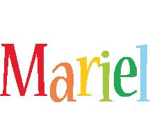 Mariel birthday logo