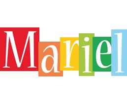 Mariel colors logo