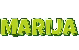 Marija summer logo