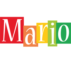 Mario colors logo