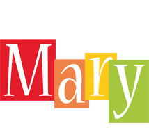 Mary colors logo