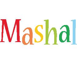 Mashal birthday logo