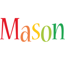 Mason birthday logo